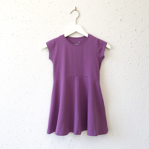 LILLY dress in Grape