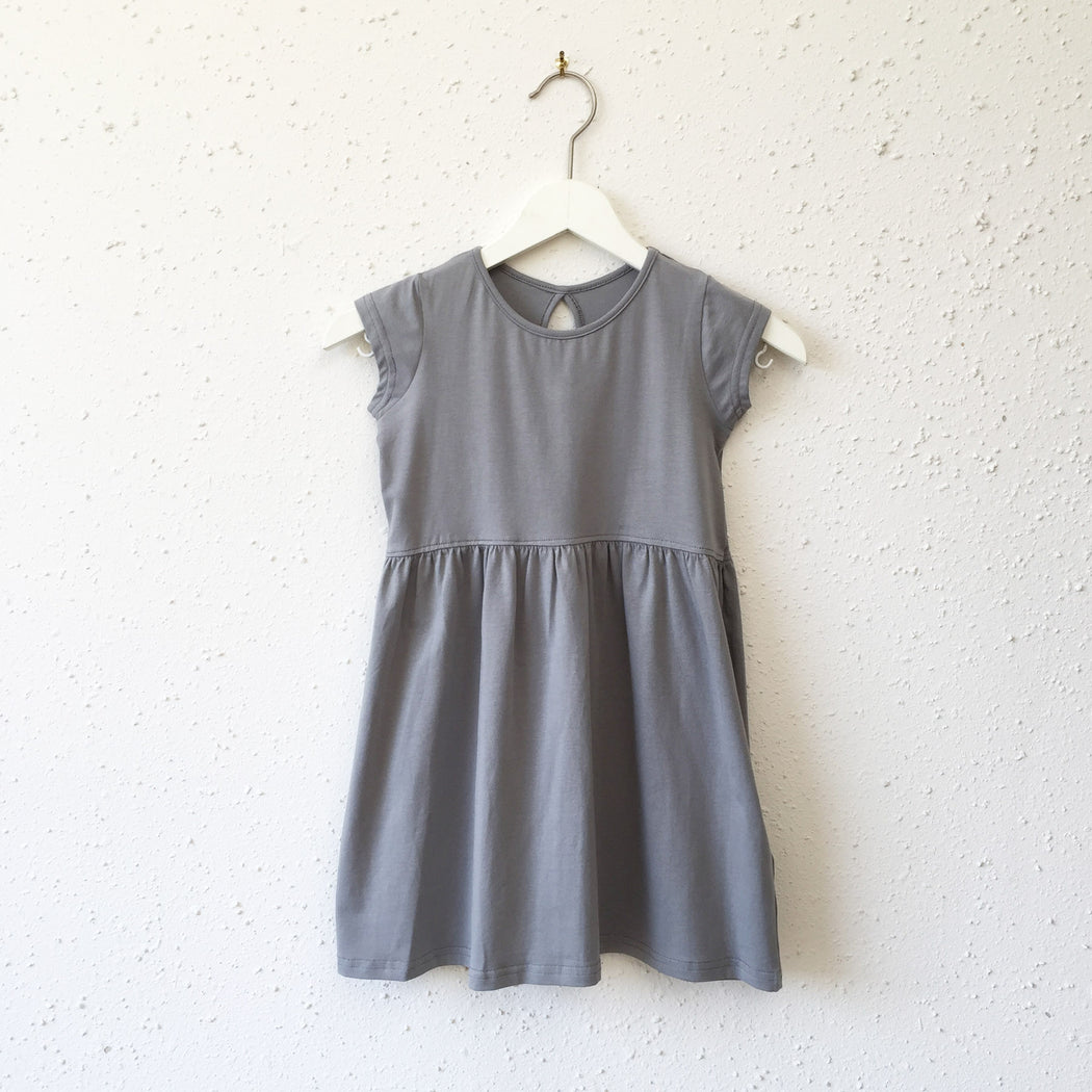 LYDIA dress in Gotham Grey