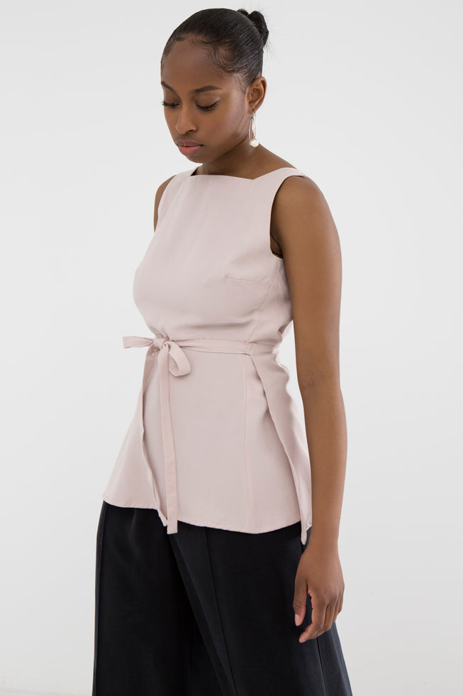 Tuva Silver Pink Top