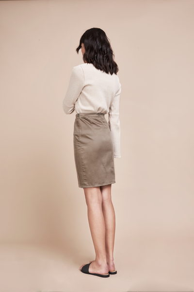 Slow Fashion Pencil Skirt Timeless Style