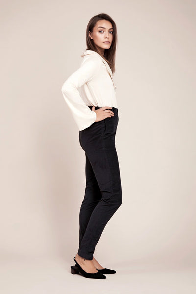 female corduroy business pants