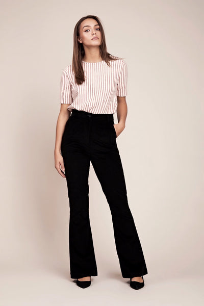 Sustainable Ethical Corduroy Pants Flare Palazzo
