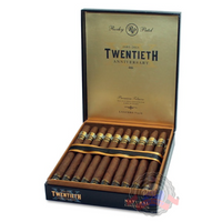 Rocky Patel 20th Anniversary Lancero is a full body blend. Constructed in Honduras. Order yours at Cigar Basement today.