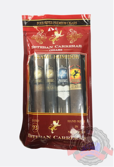 Esteban Carreras 4ct Assorted Humidified Pack