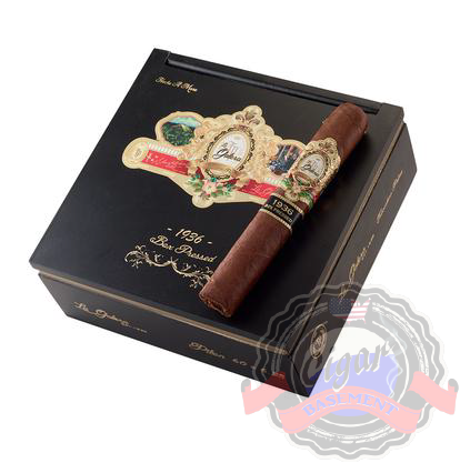 La Galera 1936 box press Cortador is a medium to full body cigar with a Habano wrapper and a Dominican filler. Notes of fruit, caramel, cocoa and cinnamon and red pepper. Order a box at Cigar Basement.