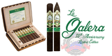 La Galera 80th Anniversary Limited Edition Maduro cigars are handmade using three different Dominican fillers including Criollo '98, Olor, and Piloto Cubano, the binder is a Dominican Corojo and the wrapper is a beautiful dark brown San Andres Maduro wrapper.