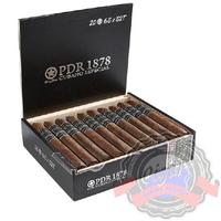PDR Cigars Capa Madura 1878 Torpedo is a medium body cigar with a Brazilian Arapiraca wrapper and a Dominican filler.