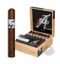The Affinity Maduro Cigar by Sindicato is a must-try for any true cigar lover. These medium to full-bodied smokes come with a Nicaraguan filler and binder all encased in a dark and rich Connecticut Broadleaf Maduro wrapper. Order at Cigar Basement today!!