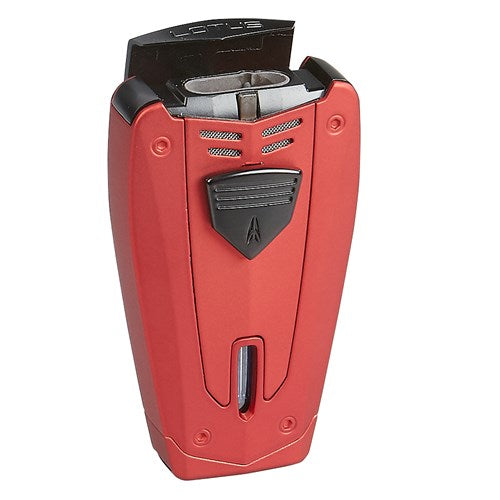 Lotus 67 Fusion Red Triple Torch Cigar Lighter