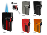 Lotus 52 Orion Dual Flame Gun Metal Lighter