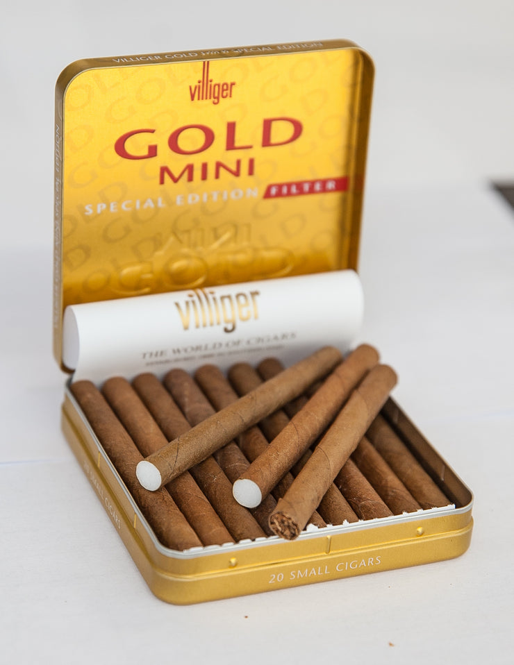 Gold Mini Filter Cigarillos