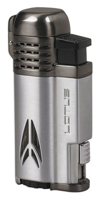 Lotus 65 Defiant Chrome Quad Torch Lighter
