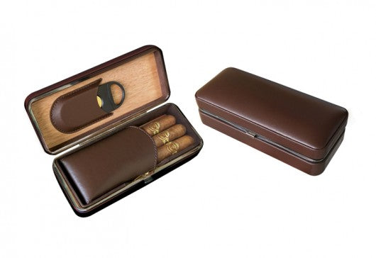 Cigar Case Brown