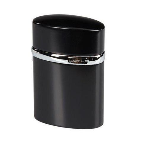 Lotus Black Table Torch Lighter