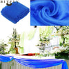 5M*1.35M Sheer Organza Swag Fabric wedding decoration