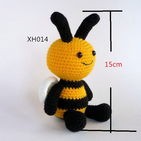 Amigurumi Bee rattle, Crochet Toy Bee, Plush Bee, Bumble Bee,Crochet Animal