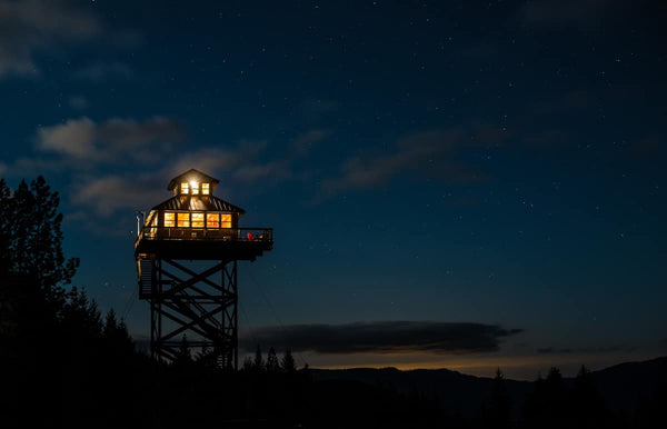 fire lookout airbnb