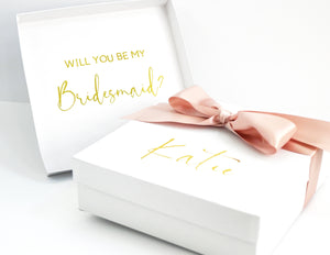 Beach Babes Bridesmaid Proposal Box