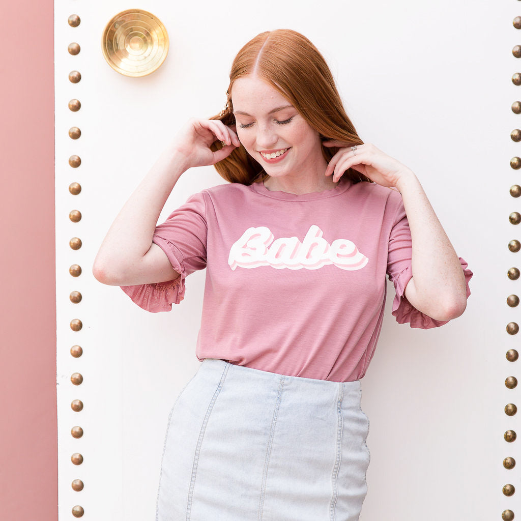 Retro Babe Shirt