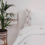 Pineapple Luxury Cotton Sateen Bedding Set: Elizabeth Scarlett 2