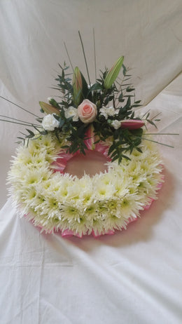 Massed Wreath .