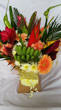 Tropical Box Bouquet
