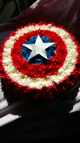 Captain America Funeral Tribute