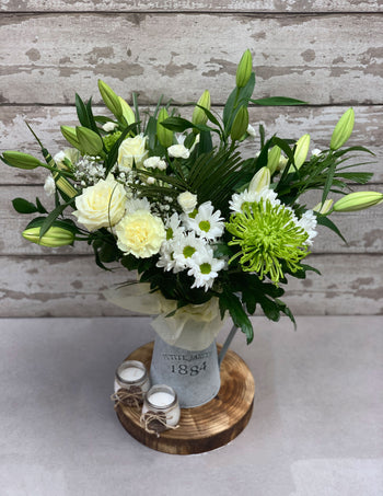Classic White  Lily Bouquet