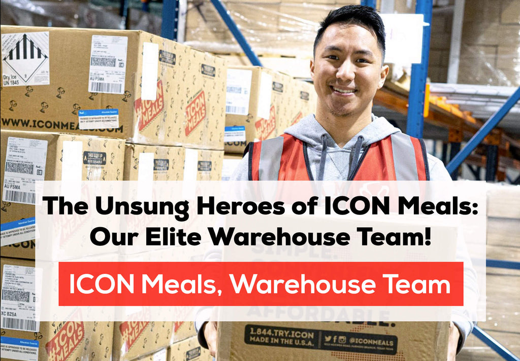 The Unsung Heroes of ICON Meals: Our Elite Warehouse Team! 📦