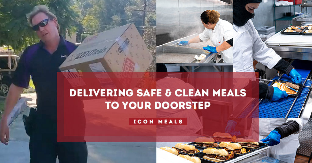 ICON Meals: Delivering Safe & Clean Meals to your Doorstep