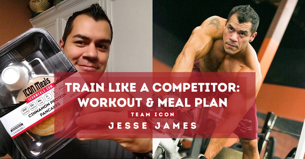 Train Like A Competitor - Full Week Workout & Meal Plan by Jesse James
