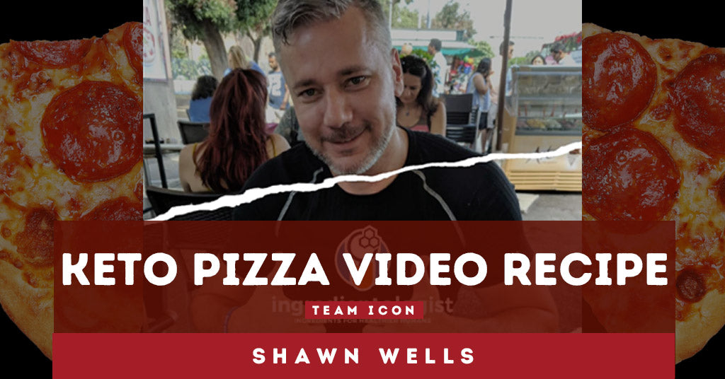 Team ICON Meals Shawn Wells: Keto Pizza! 🍕