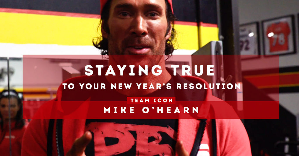 Staying True to Your New Year's Resolution: Mike O'Hearn