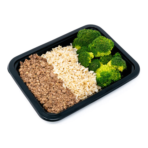 Bison with Brown Rice & Broccoli