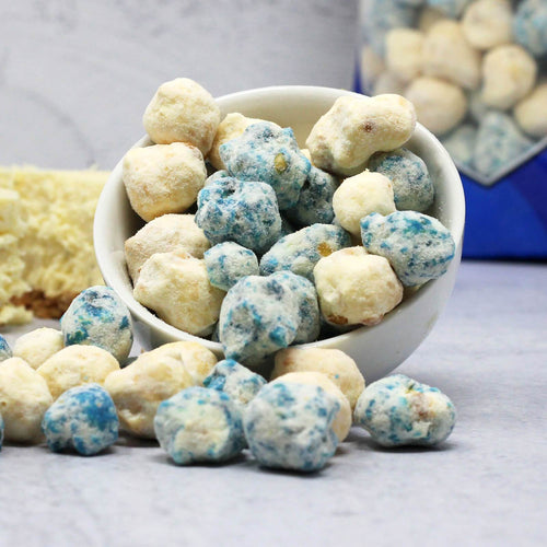Blueberry Cheesecake Protein Popcorn