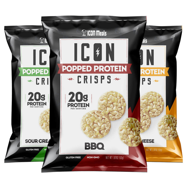 ICON Popped Protein Crisps