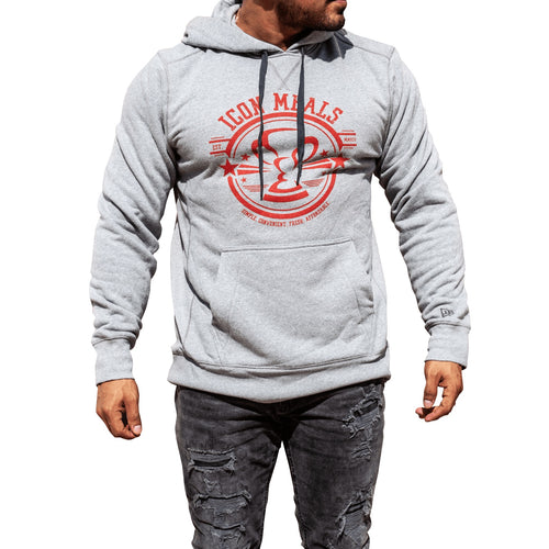 Gray Icon Hoodie