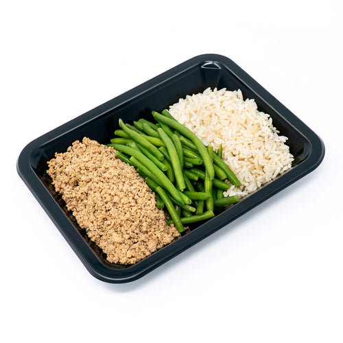 Ground Turkey, Rice & Green Beans