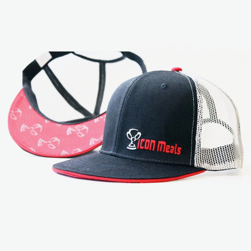 Meals - ICON BLACK FLEXFIT HAT