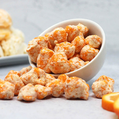 Orange Creamsicle Protein Popcorn