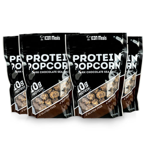 Personal Size | Dark Chocolate Sea Salt Protein Popcorn