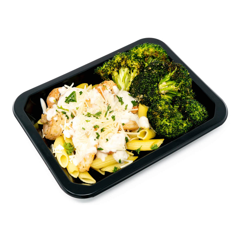 Shrimp Alfredo w/Penne Pasta & Broccoli