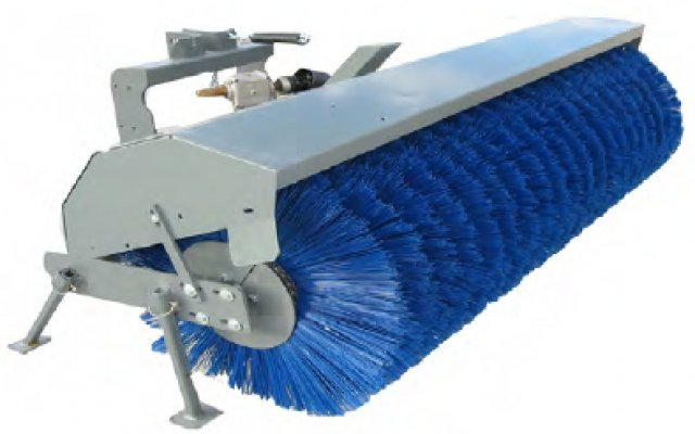 6' Wide Rotary Broom 3 Pt. Hitch PTO