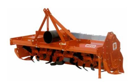 BEFCO Rotary Tiller T60 Series w/ Manual Side-Shift