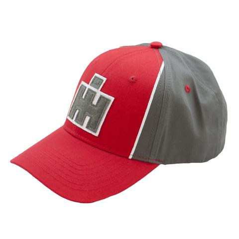 IH Grey and Red Patch Logo Cap