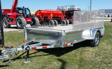 "Load image into Gallery viewer, Bearco 82""x12' Aluminum Utility Trailer"