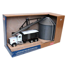 Load image into Gallery viewer, 1/32 Peterbilt Model 367 Straight Truck With Grain Box, Grain Bin, And Grain Auger Set