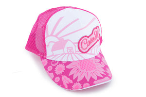 Pink Case IH Youth Cap