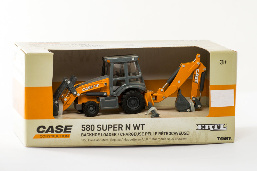1/50 Case 580 Super N WT Backhoe Loader