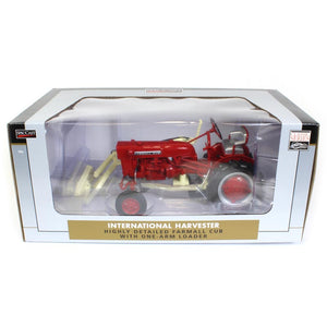"1/16 International Harvester Farmall Cub Tractor with One-Arm Loader ""Classic Series"""